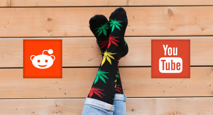 Reddit and Youtube Influencers of Marijuana