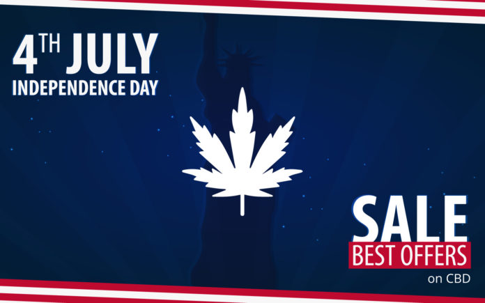 4 july CBD deals