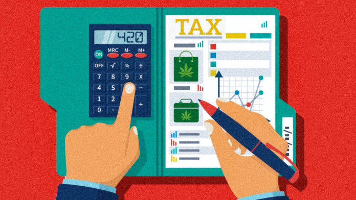 marijuana cost and tax