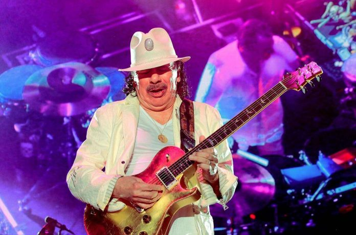 Carlos Santana has partnered with left coast