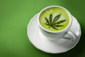 Marijuana latte Tea