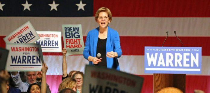 Warren Pledges Promises to Legalize Marijuana and Fight Big Tobacco