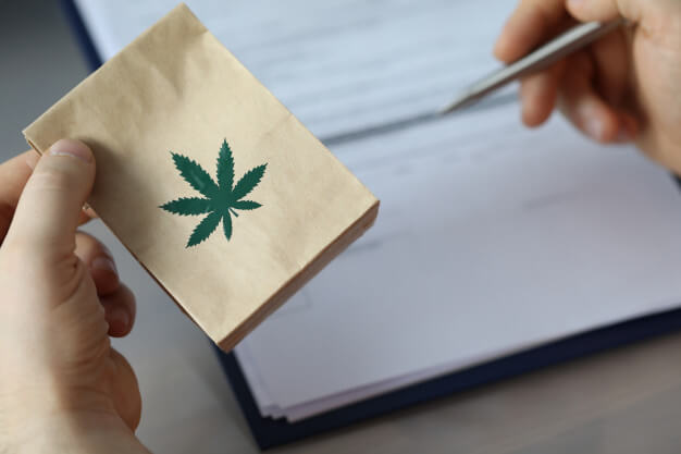 Man Have Hemp paper Bag