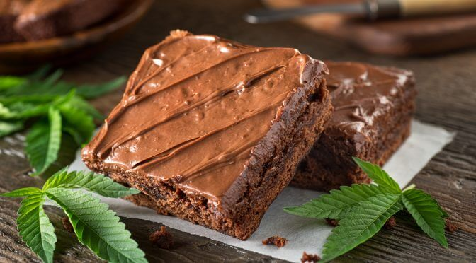 Chocolate Weed Cake Pisces