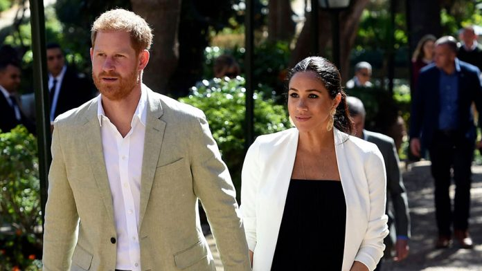 Meghan Markle and Prince Harry in Function