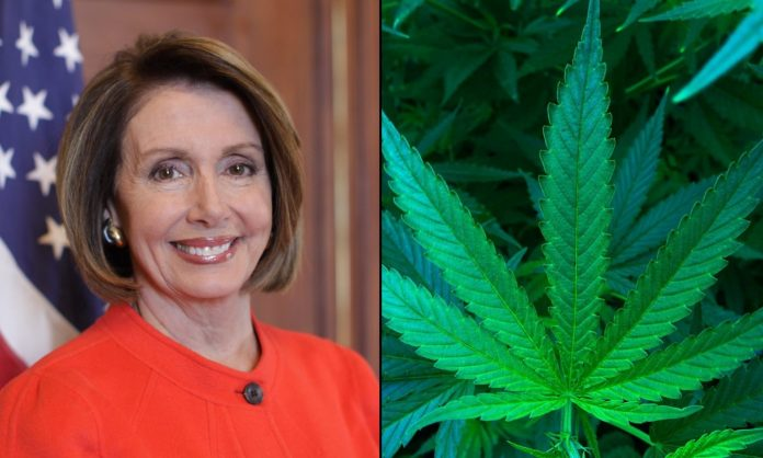 Nancy Pelosi Defends Inclusion of Cannabis Reforms in Coronavirus Relief Package
