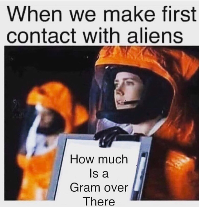 Taking Weed by Astronaut