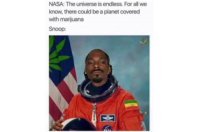 Snoop Dogg NASA Meme