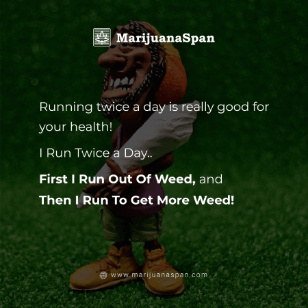 Quote about Power of Weed.