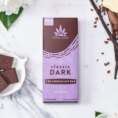 Vital Leaf CBD chocolate bar